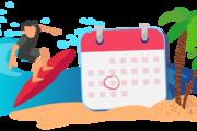 Vá de férias com a sua faturação organizada!