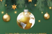 Onde quer que esteja, celebramos o Natal consigo!