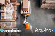 Moloni e Logistics WMS têm a solução ideal para a gestão do seu armazém