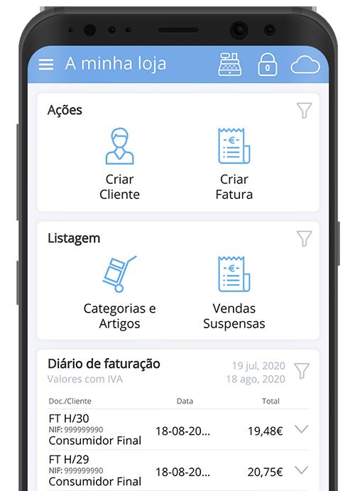 >Uma aplicação única no mercado para a emissão de documentos de venda e transporte